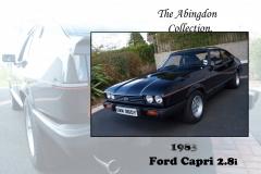 The Abingdon Collection - 1983 Ford Capri 2.8i