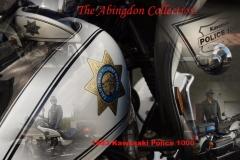 The Abingdon Collection - Kawasaki Police 1000 Bike